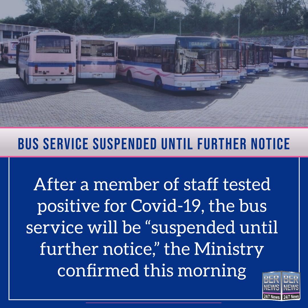 Bermuda bus service suspended after positive Covid 19 test December 11 2020 (1)