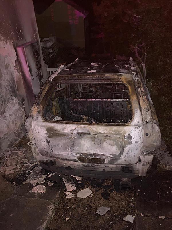 Car Explosion In St George's Bermuda Dec 2020 1