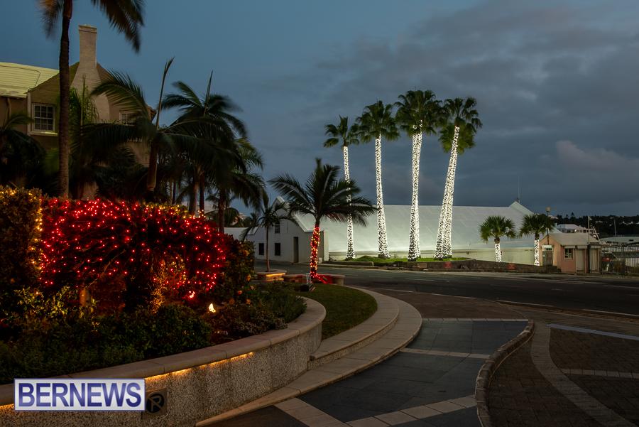 City of Hamilton Bermuda Christmas lights decorations Decemver 2020 JM (4)