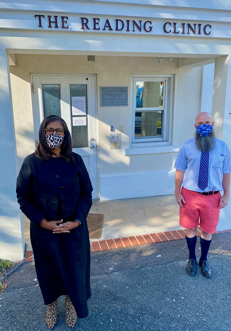 Dr Kendra-Lee Pearman & Dr Glenn Faries  Bermuda Dec 2020