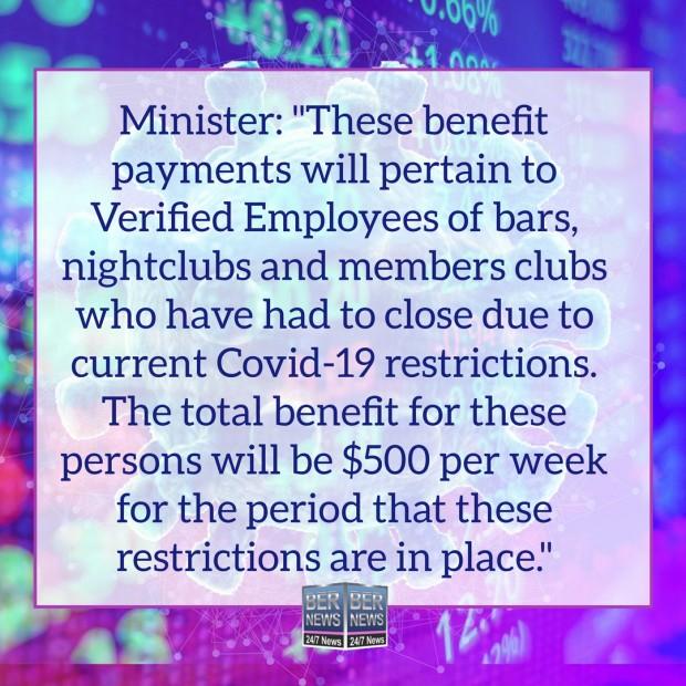 Finance Minister Bermuda Covid UB quotes Dec 16 2020 (1)
