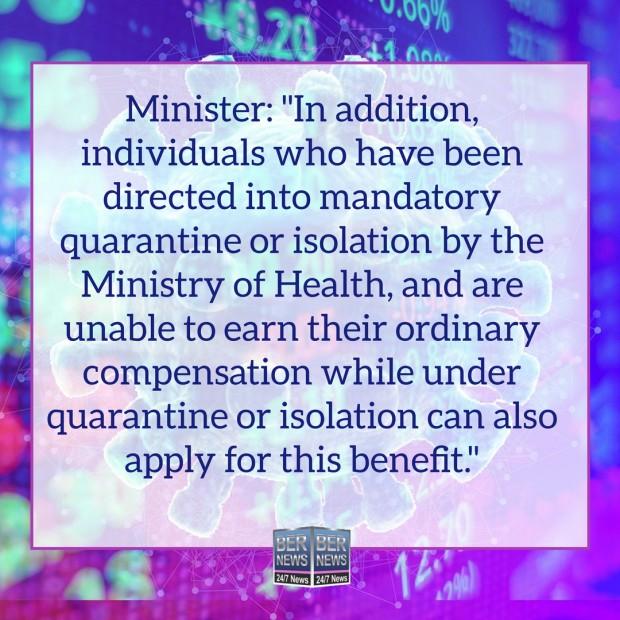Finance Minister Bermuda Covid UB quotes Dec 16 2020 (2)