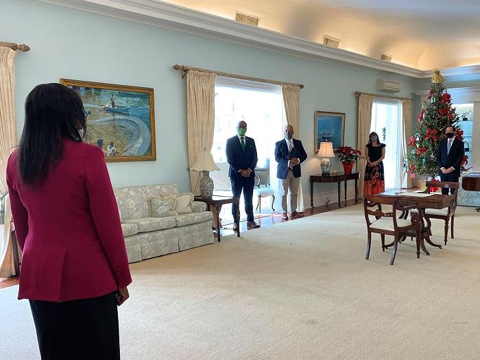 Governor Rena Lalgie sworn in Bermuda Dec 2020 (2)