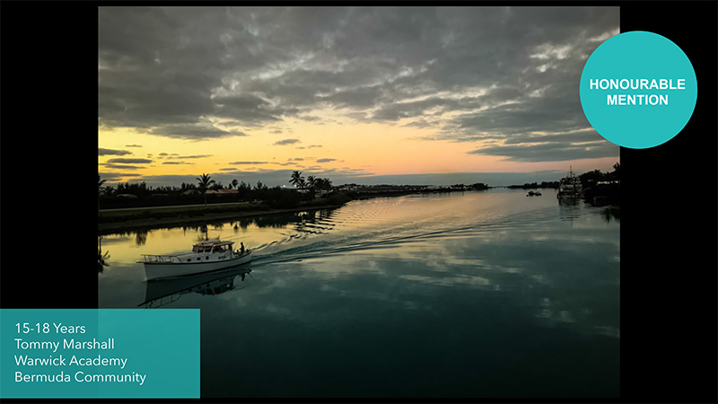 Grundy Youth Photo Contest 15-18 Years Old Bermuda Dec 2020 8