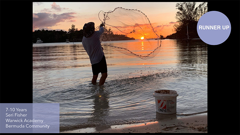 Grundy Youth Photo Contest 7-10 Years Old Bermuda Dec 2020 8