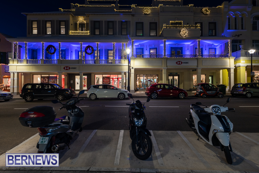 HSBC Bank Bermuda lights up purple for International Day of Persons with Disabilities PurpleLightUp  2020 (12)