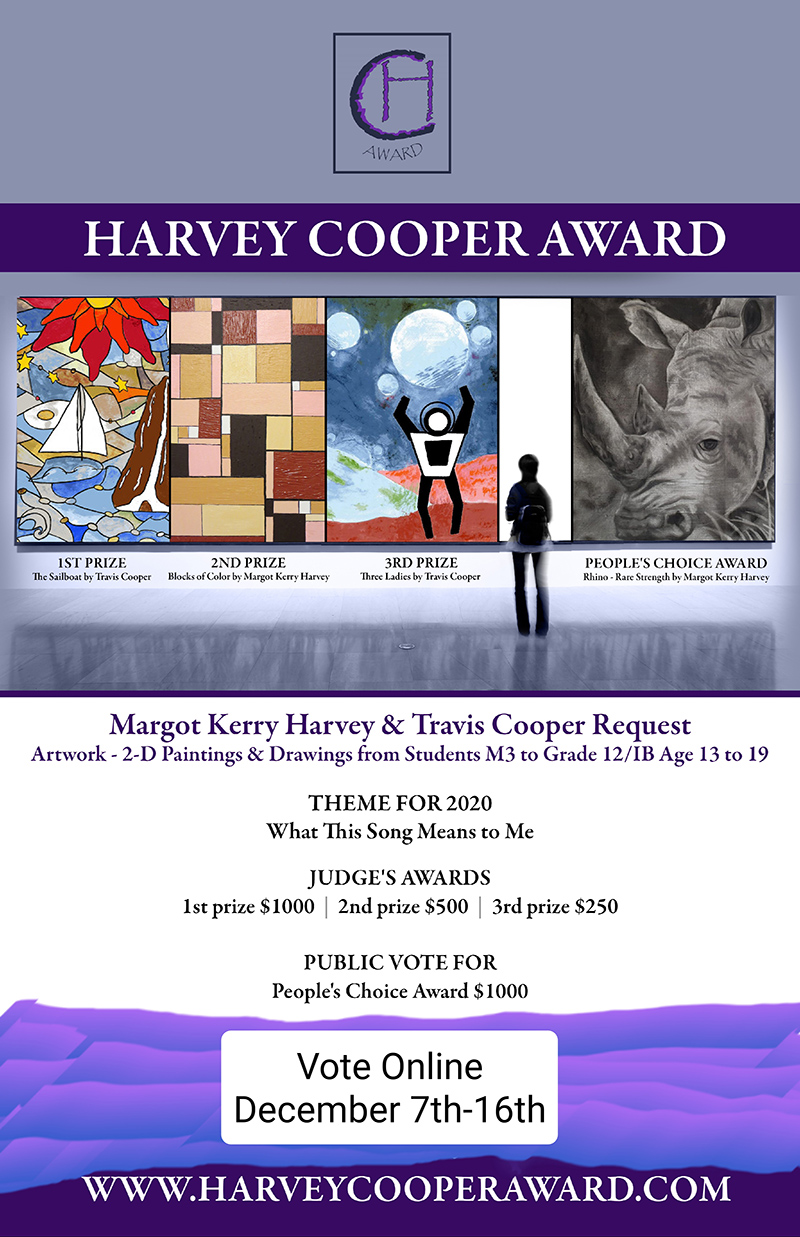 Harvey Cooper Award Bermuda Dec 2020