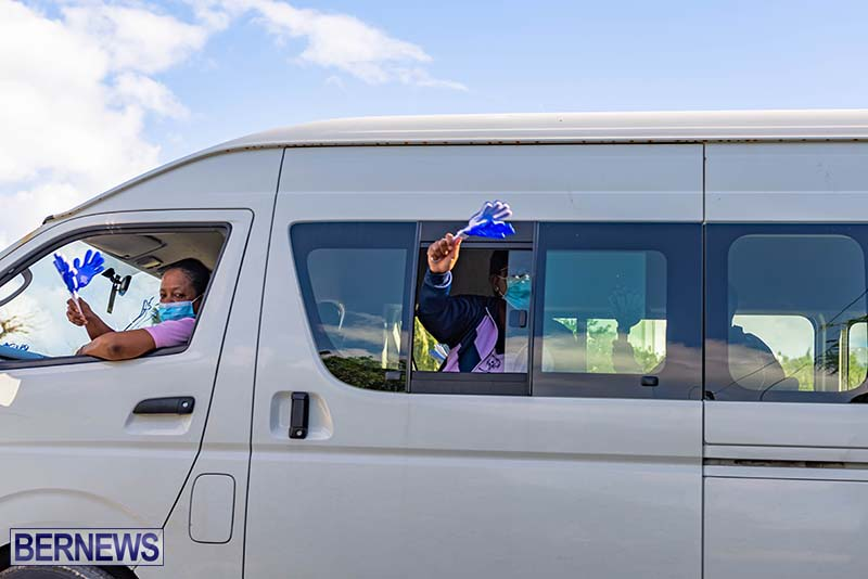 IDPD Motorcade Bermuda Dec 2020 8