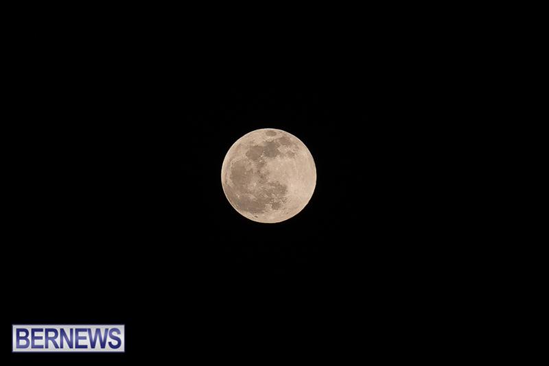 Last Full Moon Bermuda Dec 30 2020