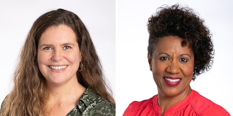 Meredith Andews & Nikita Robinson Bermuda Dec 2020