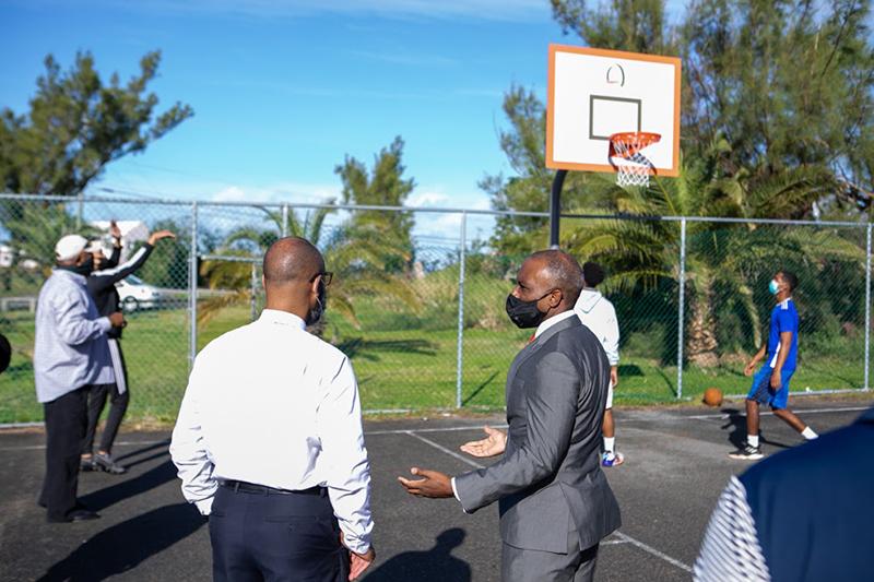 Minister Peets Basketball Bermuda Dec 23 2020 (4)
