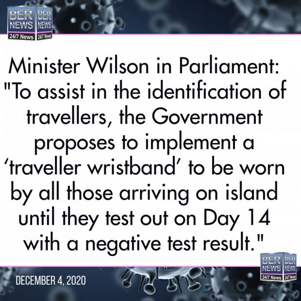 Minister Wilson bermuda Covid rules Dec 4 2020 (1)