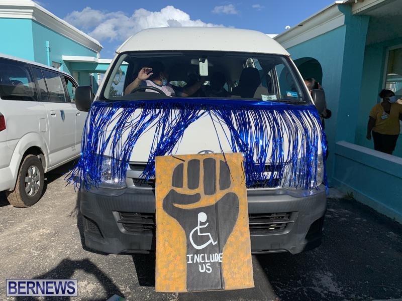 Motorcade To Celebrate IDPD Bermuda Dec 3 2020 (1)