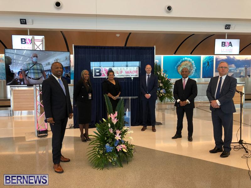 New Airport Terminal Bermuda Dec 9 2020