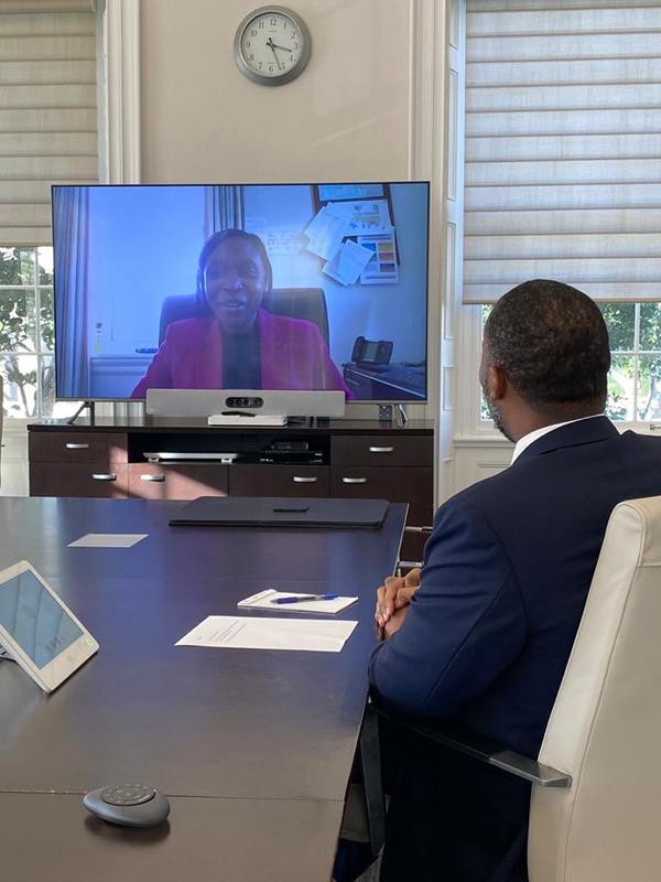 New Governor Rena Lalgie Bermuda Dec 14 2020