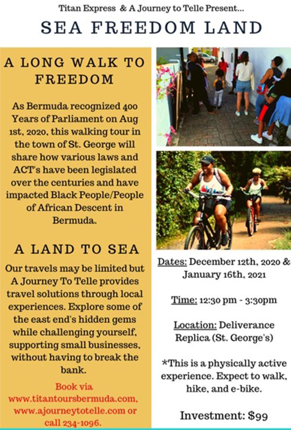 Sea Freedom Land Bermuda Dec 2020