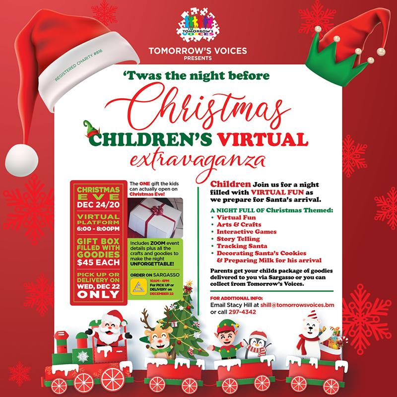 Tomorrow's Voices Children'sChristmas Eve Event Bermuda Dec 2020