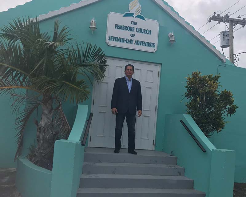 US Consul General Rizzuto Church Visit Bermuda Dec 2020 1