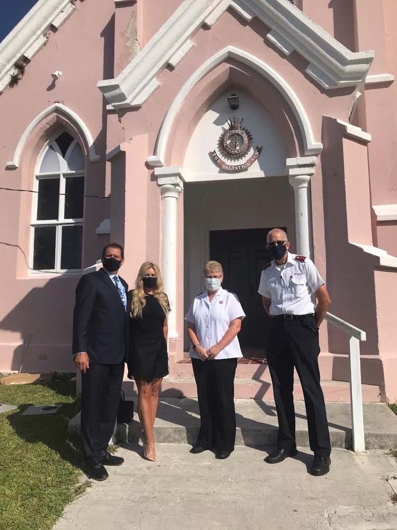 US Consul General Rizzuto Church Visit Bermuda Dec 2020 10