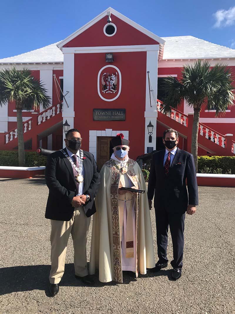 US Consul General Rizzuto Church Visit Bermuda Dec 2020 12