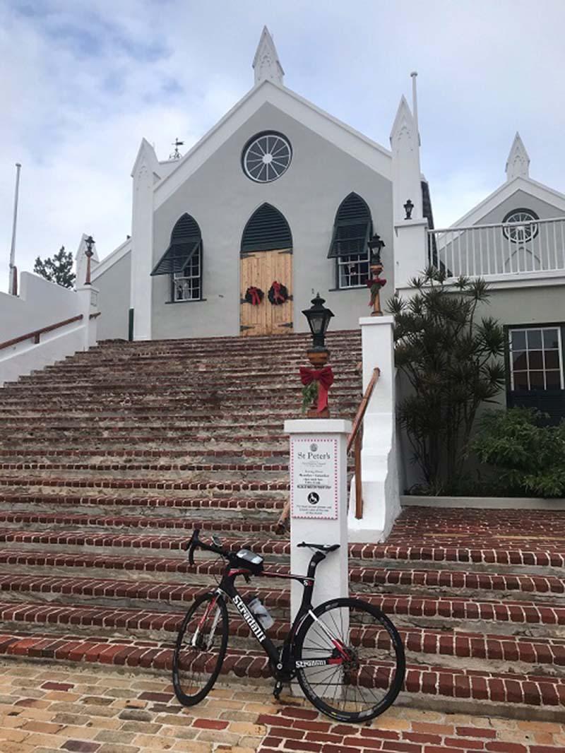 US Consul General Rizzuto Church Visit Bermuda Dec 2020 2