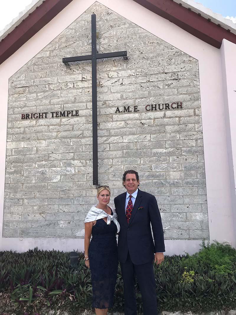 US Consul General Rizzuto Church Visit Bermuda Dec 2020 3
