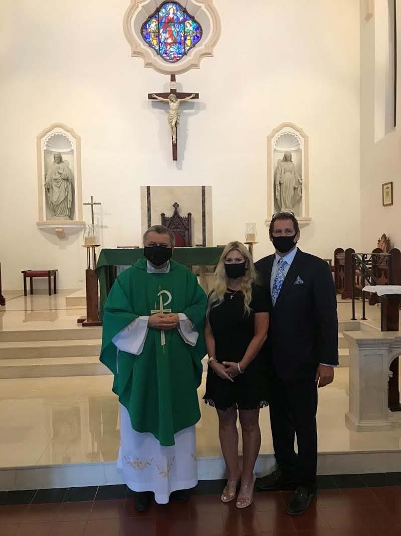 US Consul General Rizzuto Church Visit Bermuda Dec 2020 4