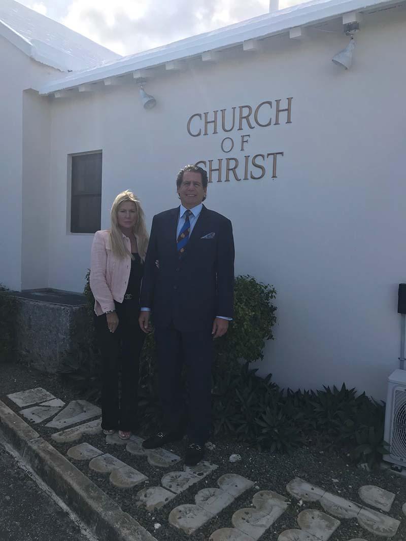US Consul General Rizzuto Church Visit Bermuda Dec 2020 5