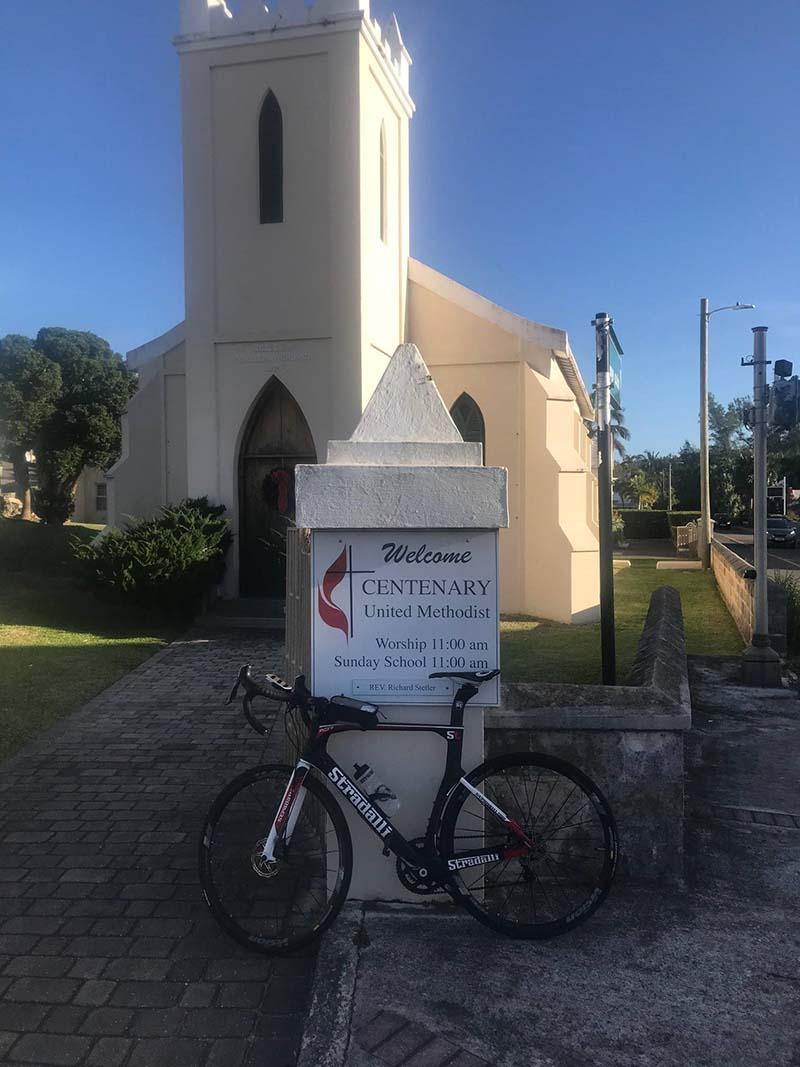 US Consul General Rizzuto Church Visit Bermuda Dec 2020 6