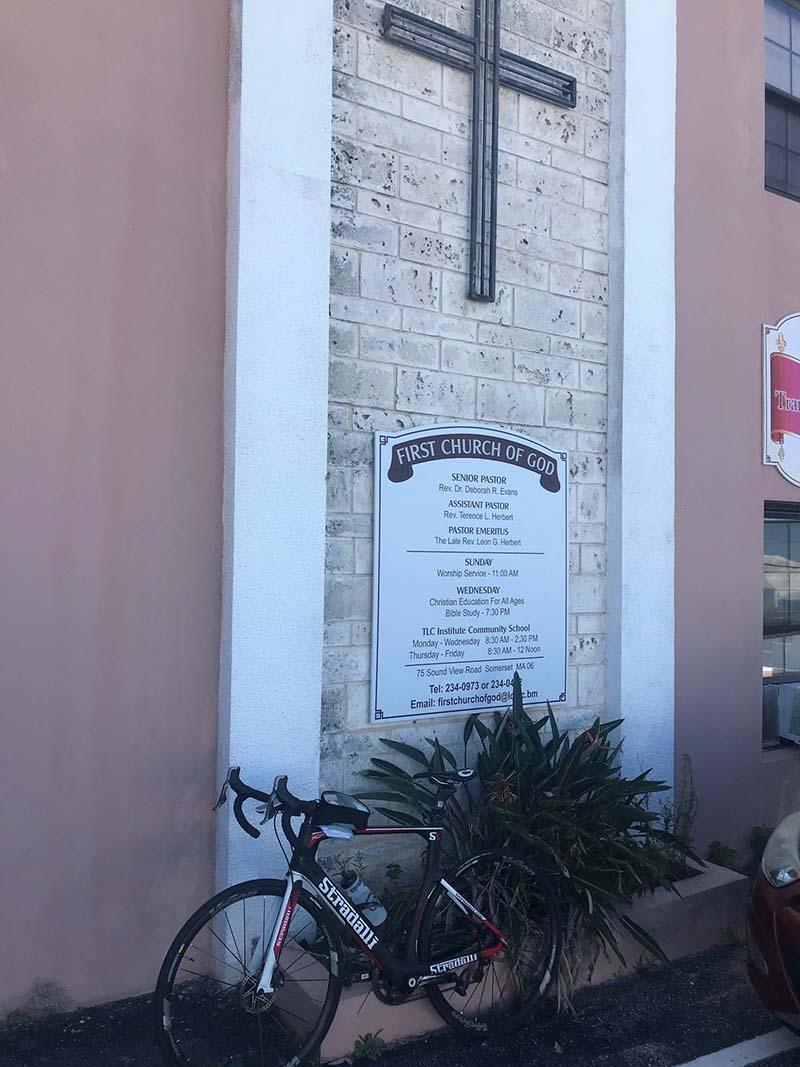 US Consul General Rizzuto Church Visit Bermuda Dec 2020 7