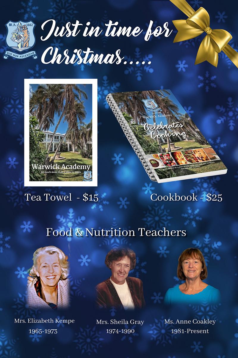 Warwick Academy Cookbook Bermuda Dec 2020
