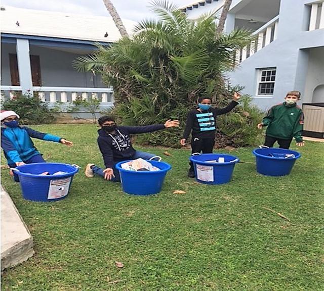 Warwick Academy Donates To Charities Bermuda Dec 2020 5