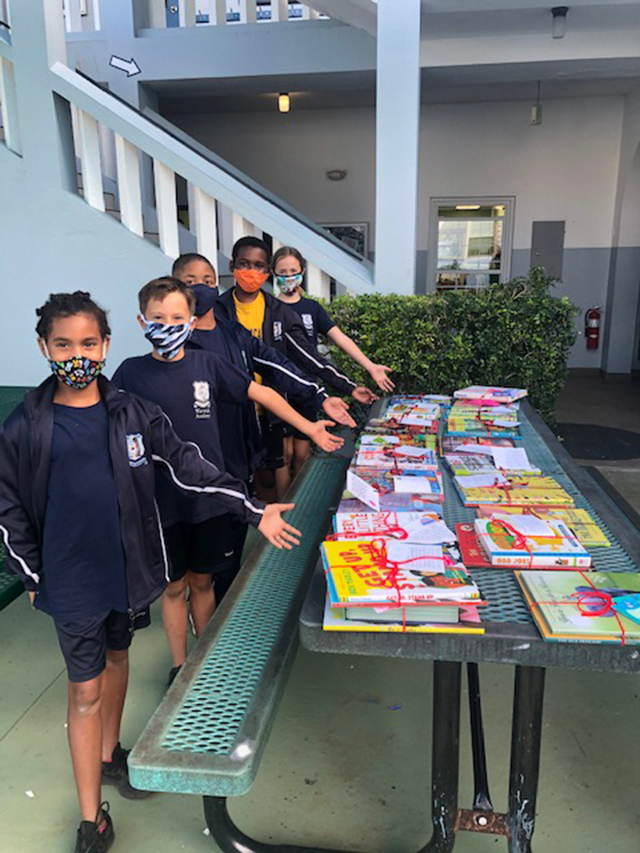 Warwick Academy Donates To Charities Bermuda Dec 2020 7