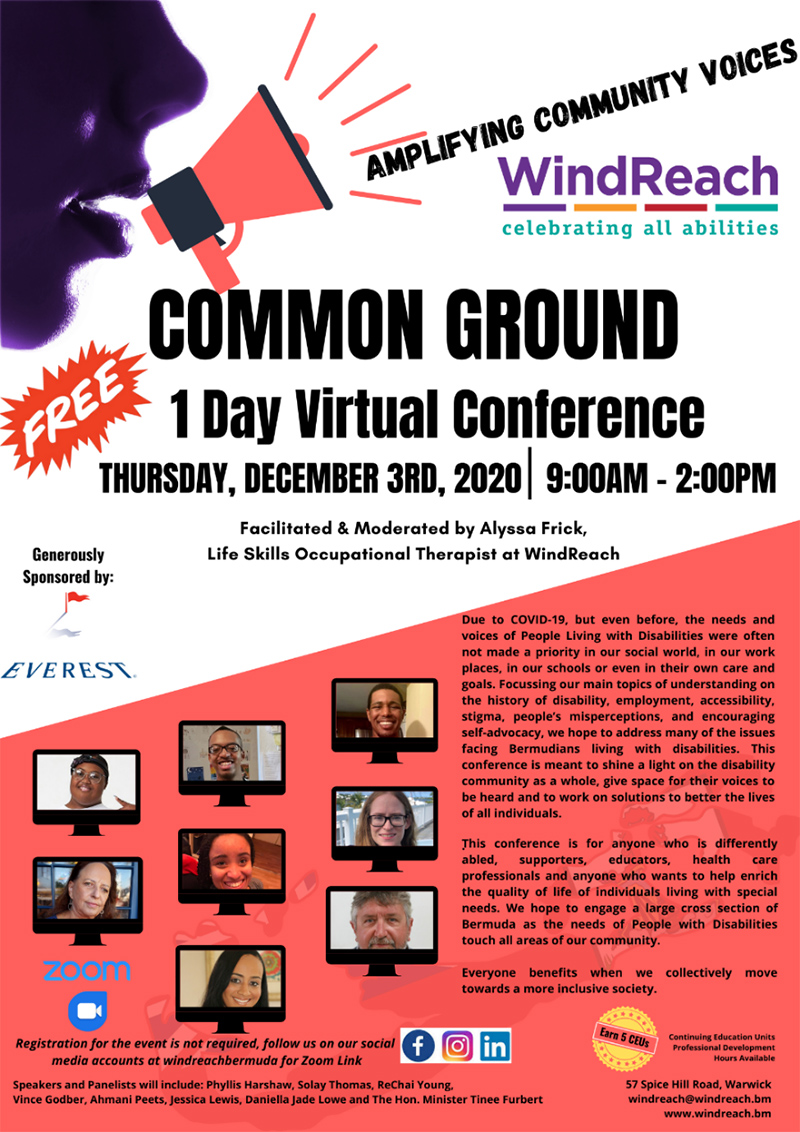 WindReach Virtual Conference Bermuda Dec 2020