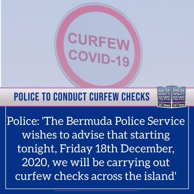 police dec 18 2020 bermuda curfew checks