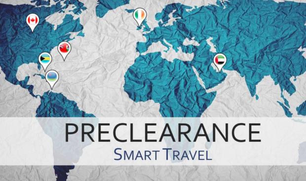 us preclearance map customs