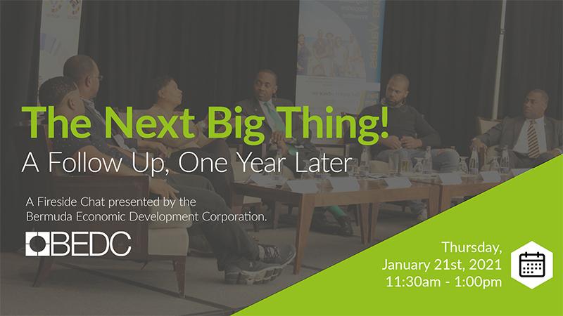 BEDC Next Big Thing Seminar Bermuda Jan 2021 2