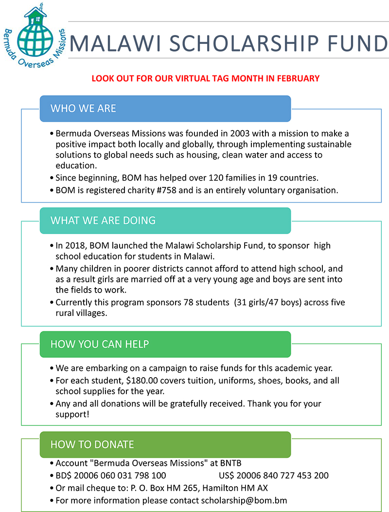 Microsoft Word - MALAWI SCHOLARSHIP FUND final  .docx