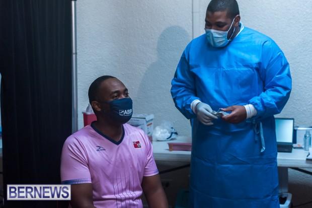 Bermuda officials get first coronavirus vaccine Jan 11 2021 (11)