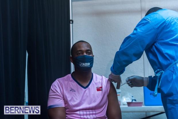 Bermuda officials get first coronavirus vaccine Jan 11 2021 (13)