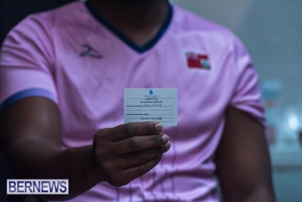 Bermuda officials get first coronavirus vaccine Jan 11 2021 (15)