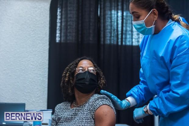Bermuda officials get first coronavirus vaccine Jan 11 2021 (17)
