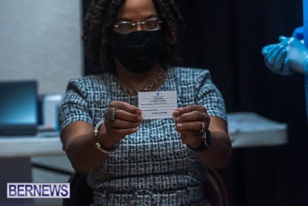 Bermuda officials get first coronavirus vaccine Jan 11 2021 (19)