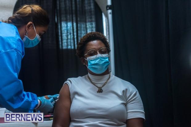 Bermuda officials get first coronavirus vaccine Jan 11 2021 (20)
