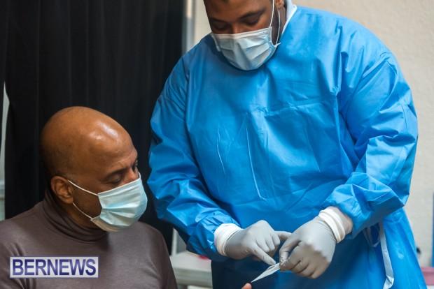 Bermuda officials get first coronavirus vaccine Jan 11 2021 (22)
