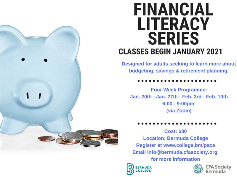 CFASB Relaunches Financial Literacy Series Bermuda Jan 2021