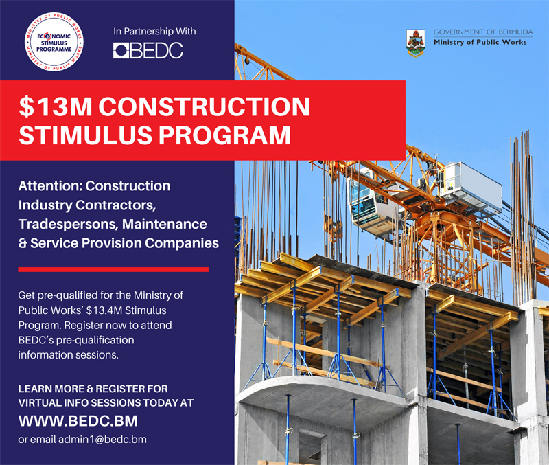 Construction Stimulus Program Bermuda Jan 2021