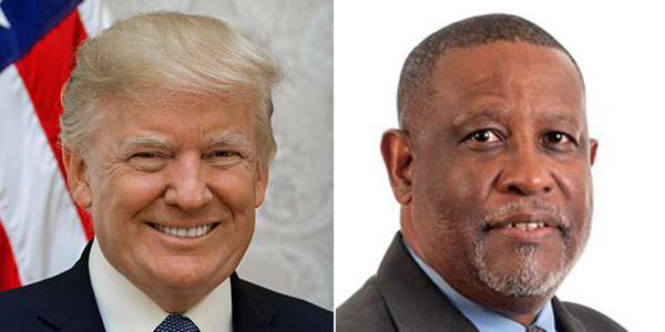 Donald Trump Marcus Jones Bermuda Jan 19 2021 TWFB