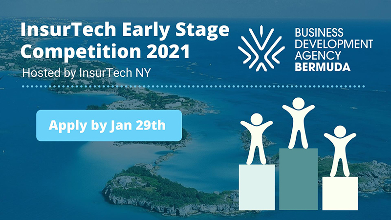 Early-Stage InsurTech Competition Bermuda Jan 2021