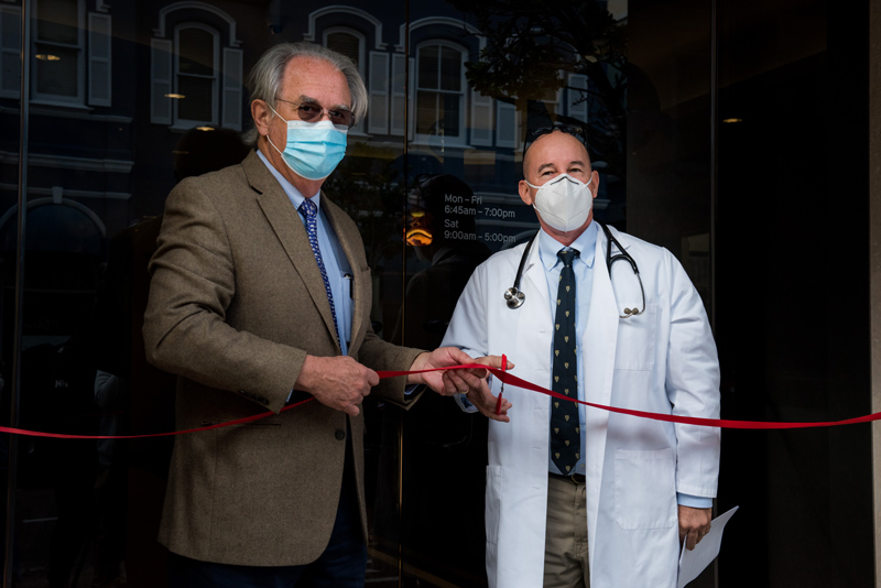Photo by Chris Burville. Hamilton Medical Center Opening
